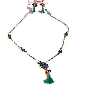 Disney Parks Princess Ariel Jewelry Set